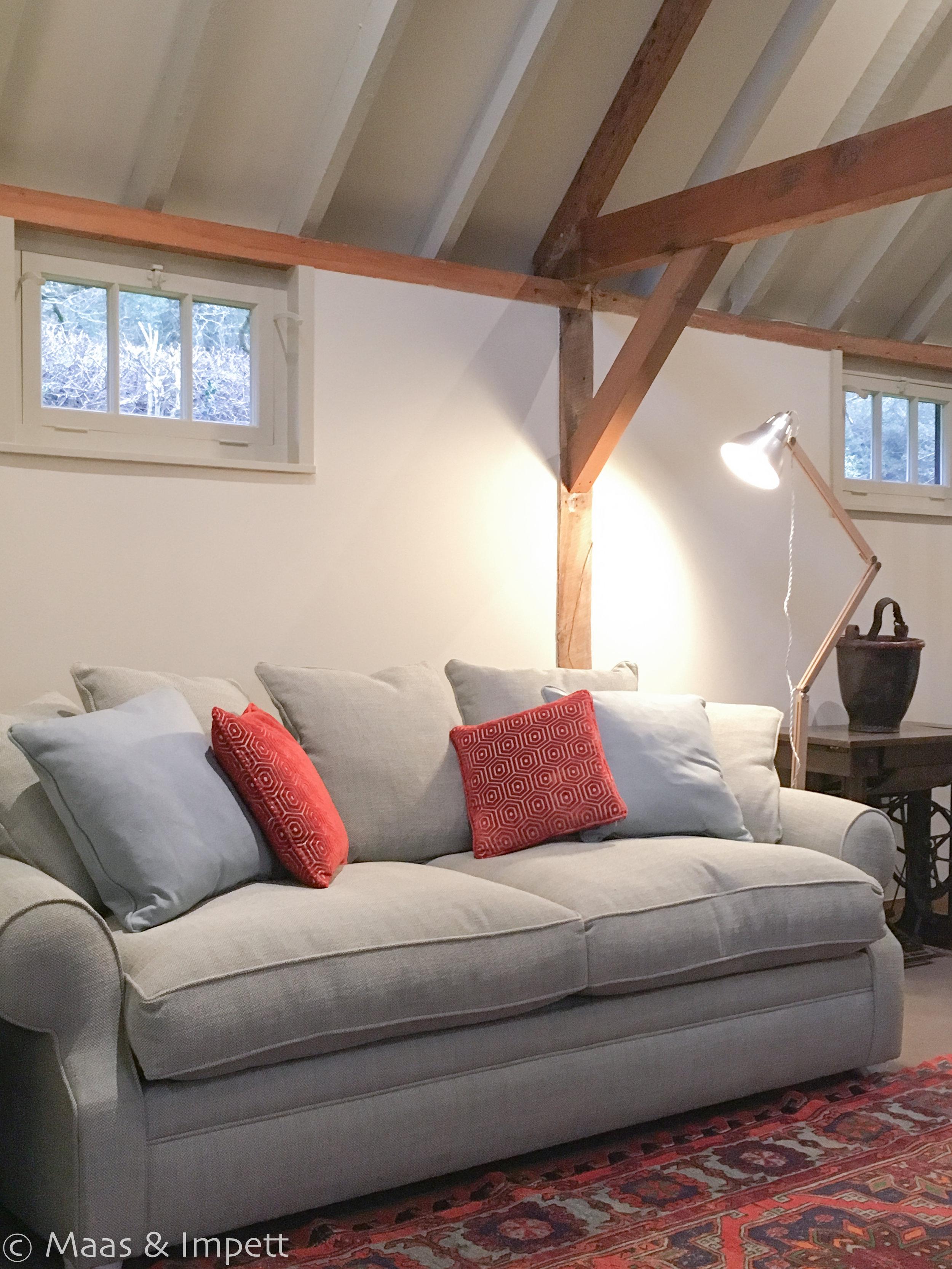 Barn conversion interiors