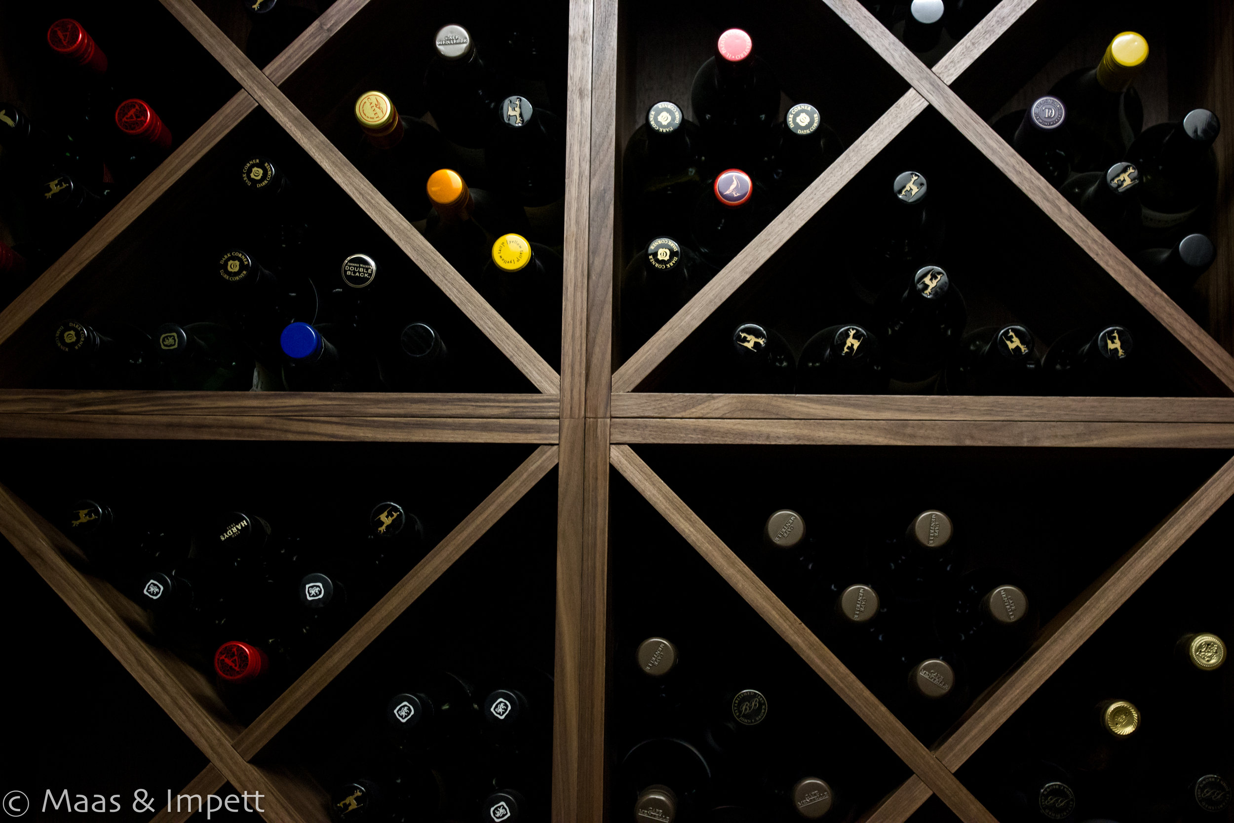 Bespoke Carpentry for Wine Cellar