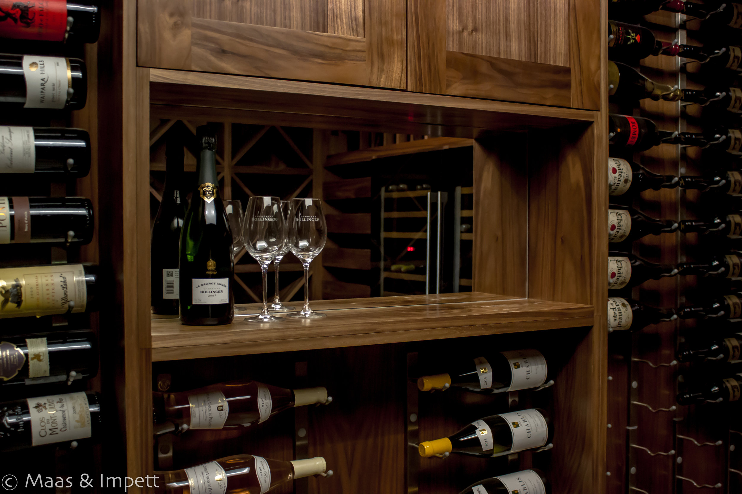 Bespoke  Carpentry foe Wine Cellar