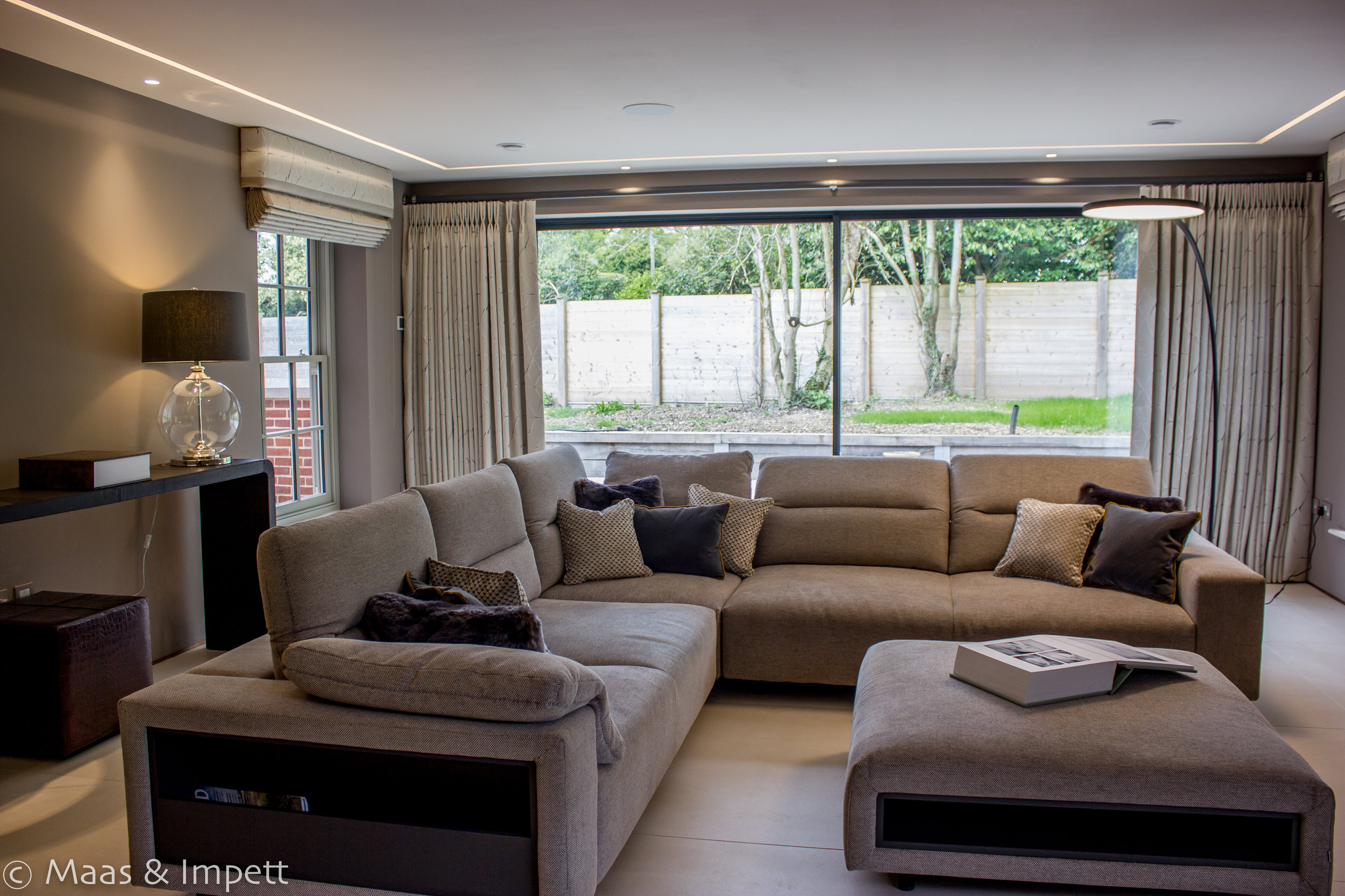 Interior design for contemporary home