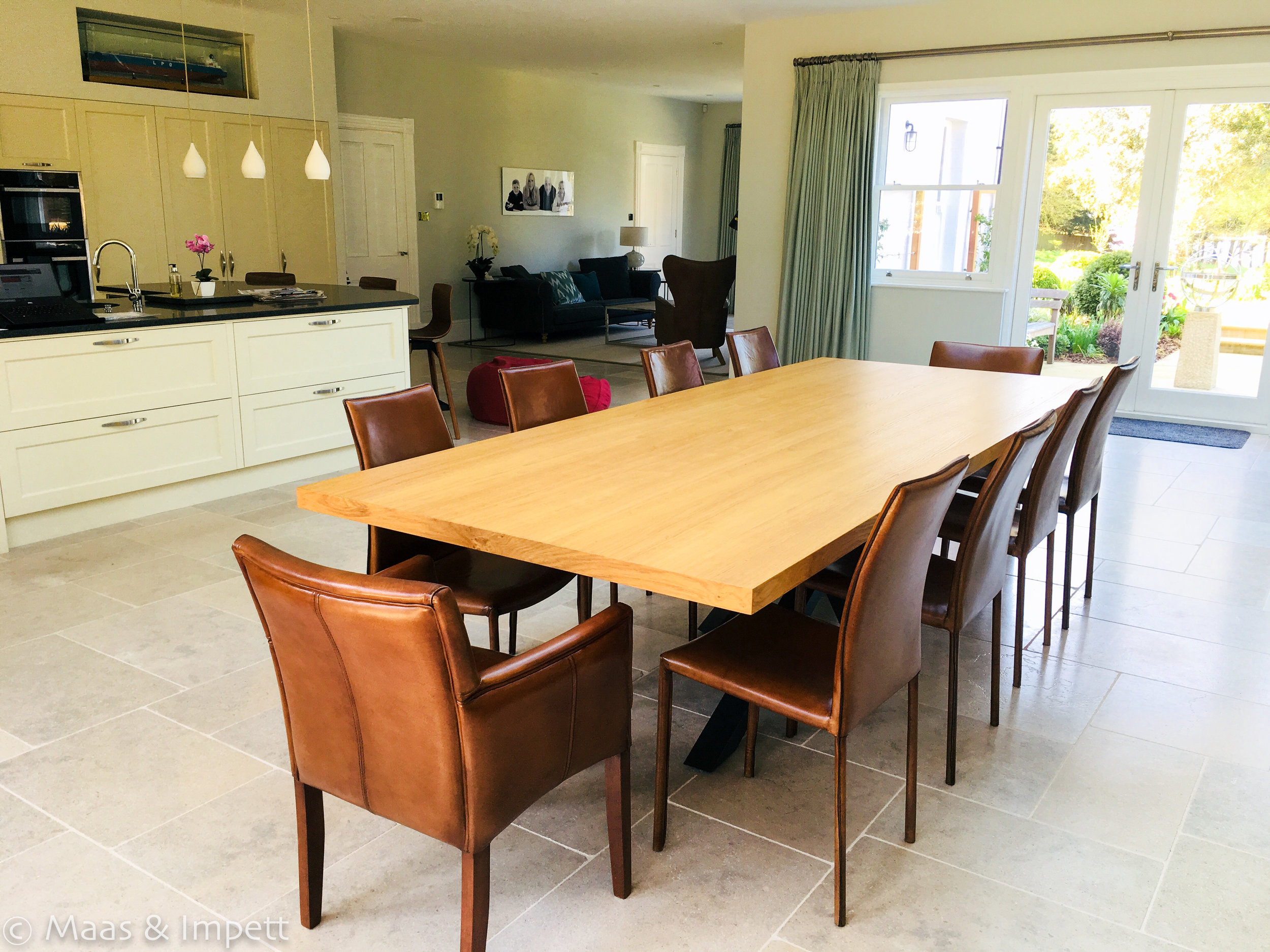 Open plan living in Lymington