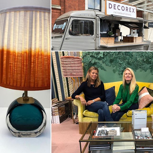 Decorex 2019  Our favourite lamp @pookylights #interiordesignerhampshire @decorex_international #inspiredesign @kitmilesstudio