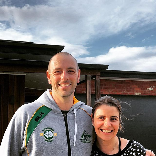 Look at those smiles! I guess the excitement of owning a #clarkeandcobuilders home out weighs all the moving they are about to do... 🚛💪🏼📦🏠 Congratulations guys - enjoy your beautiful new home. #newhome #dreamhome #familyhome #seachange #torquay #surfcoast