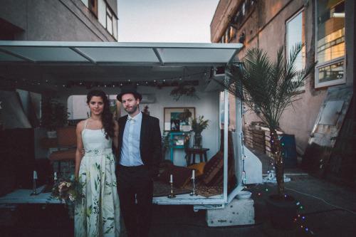 Geréby Zsófi Saját esküvőjén