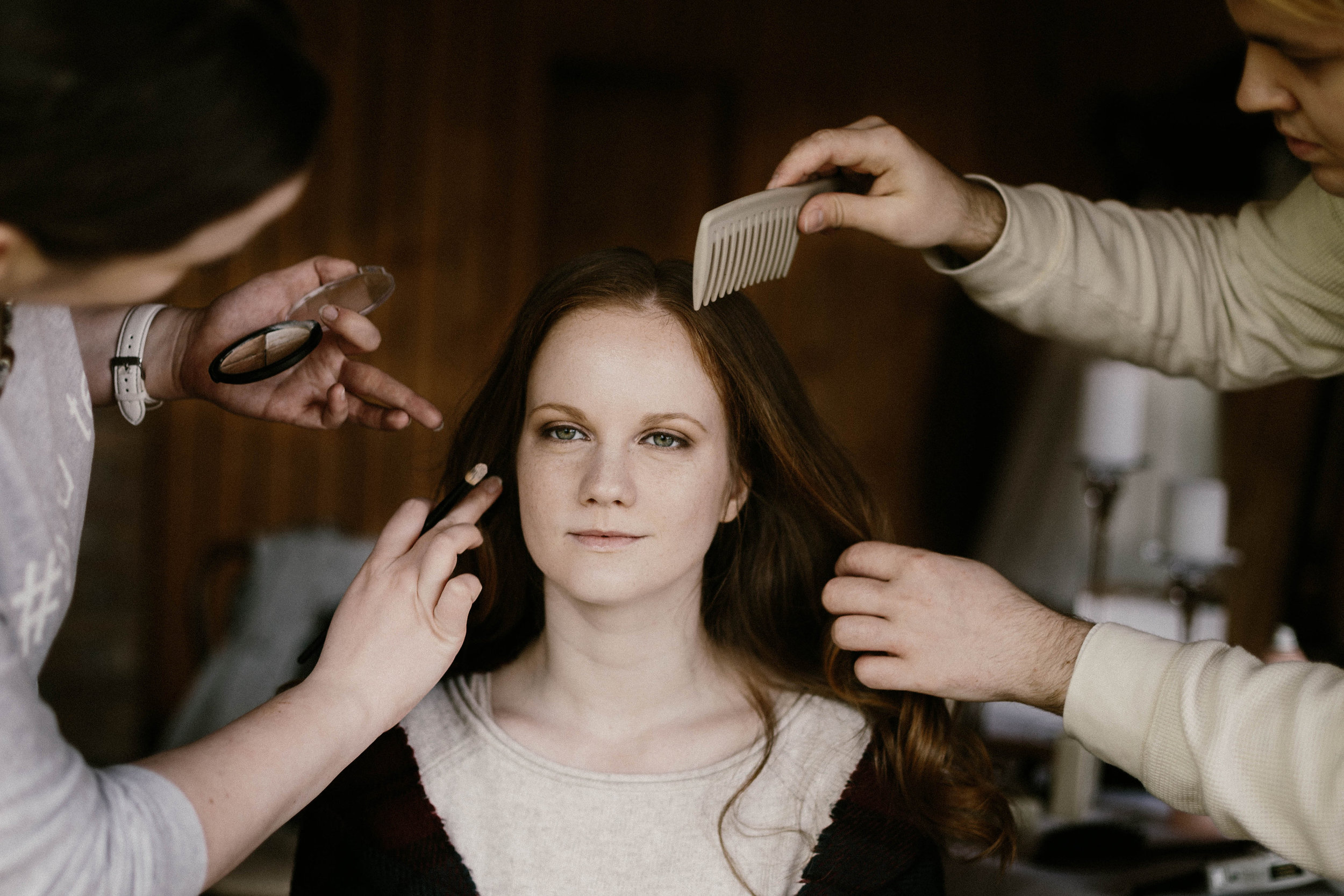 beauty team kezei alatt - szlamizita make up és kornel hairbert fotó: just stay natural