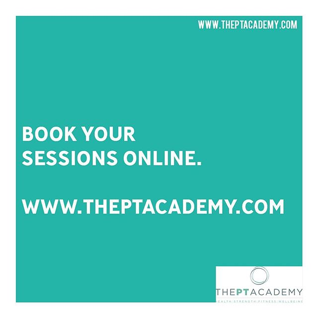 It's very easy to book your PT sessions with us. Just visit our website www.theptacademy.com.  Get in touch about your fitness journey with us.  Link in our bio. . . . #PersonalTrainer #PersonalTraining #fitnessmotivation #instafit #lifestyle #weightloss #pt #exercise #training #health #fitness #gymlife #getfit #fatloss #strength #functional #goals #fitfam #hardwork #results #healthylifestyle #fitnesscoach #fitnesslifestyle #training #motivation #transformation #inspire #theptacademy