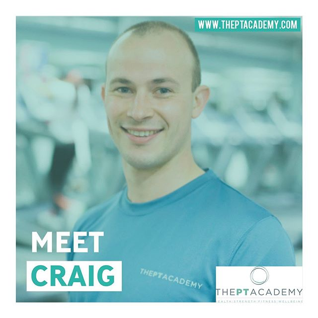 "Many of you already know Craig. But for those that don't, meet Craig, owner and PT. ""Personal training isn't my job, it's my absolute passion. Training will be hard work, enjoyable and motivating in order to ensure people can achieve their goals. Through scientific detailed planning I have helped well over 500 people to do this."" To book in with Craig visit our website.  Get in touch about your fitness journey with us.  Link in our bio. . . . #PersonalTrainer #PersonalTraining #fitnessmotivation #instafit #lifestyle #weightloss #pt #exercise #training #health #fitness #gymlife #getfit #fatloss #strength #functional #goals #fitfam #hardwork #results #healthylifestyle #fitnesscoach #fitnesslifestyle #training #motivation #transformation #inspire #theptacademy"