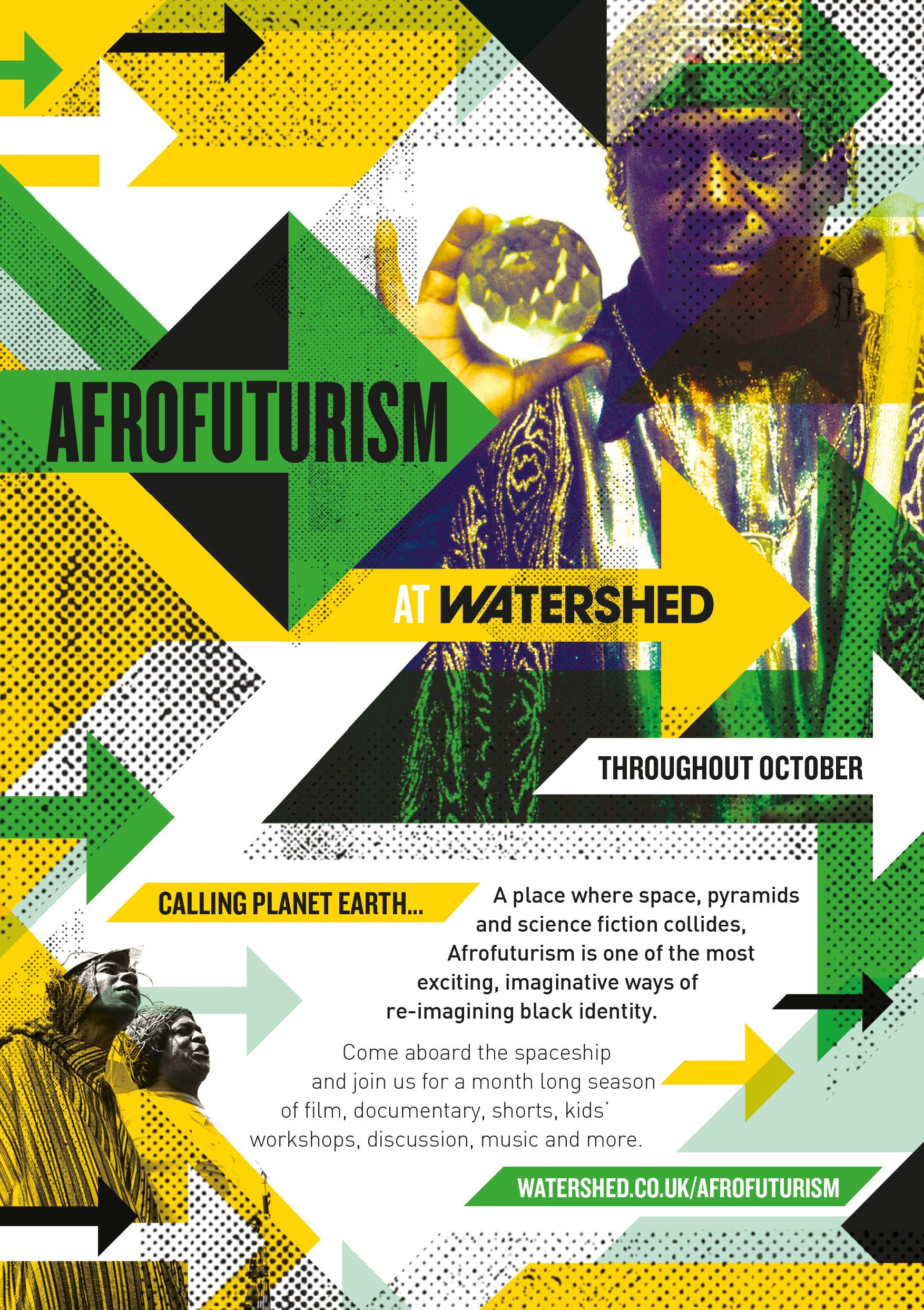 Afrofuturism leaflet cover
