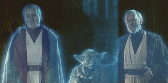 La plej malalta esas  Yoda   Kiu estas inter la du homoj estas la plej saĝa