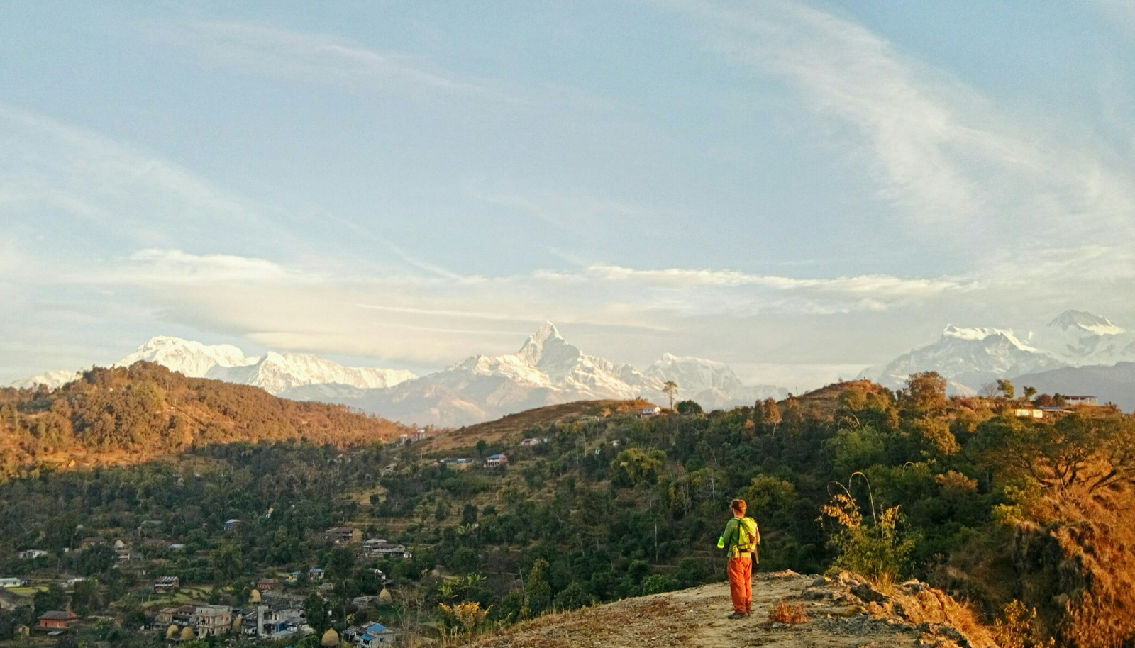 Sunrise from Methlang, Pokhara, Nepal