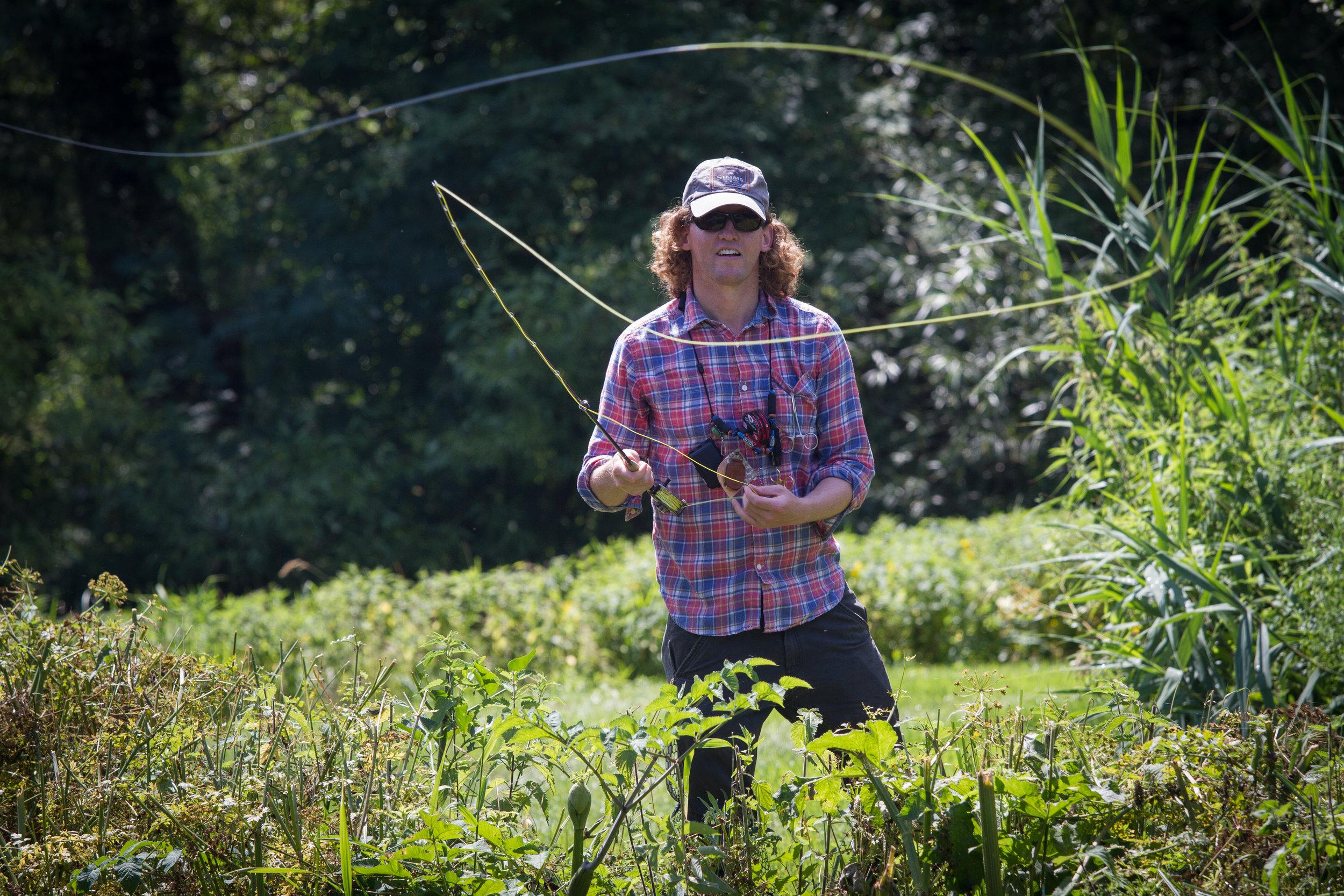 Fly Fishing Easton