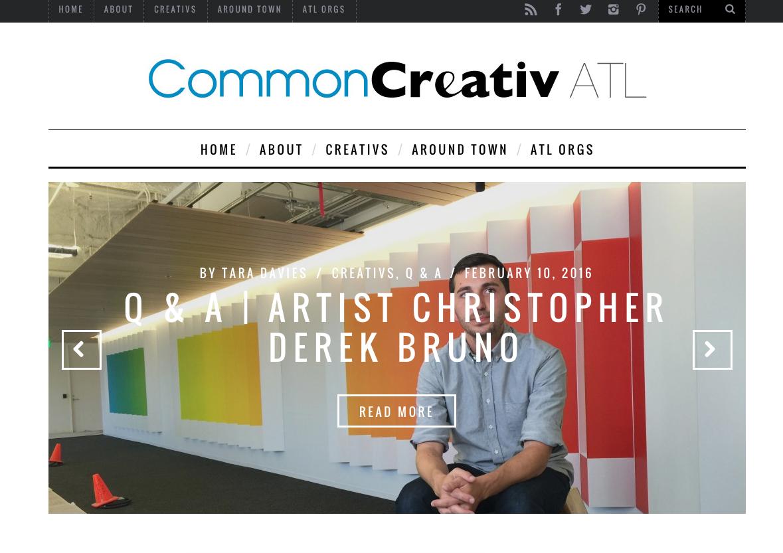 WordPress Design  | www.commoncreativatlanta.com