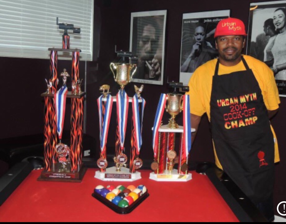 Omar Bryant, Owner & Grillmaster The Urban Smoke Cafe