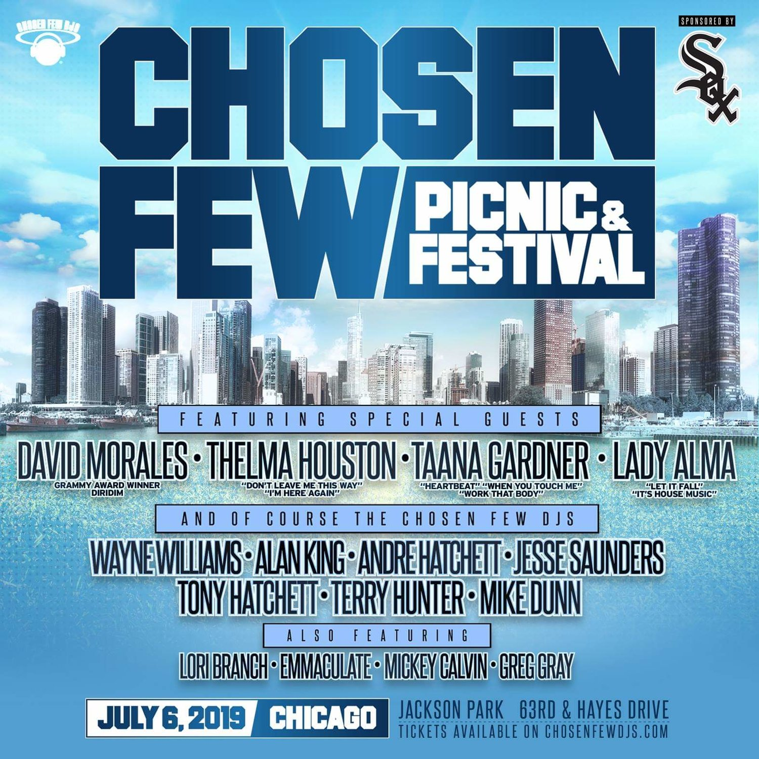 Check Lady Alma out at this year's Chosen Few Festival!