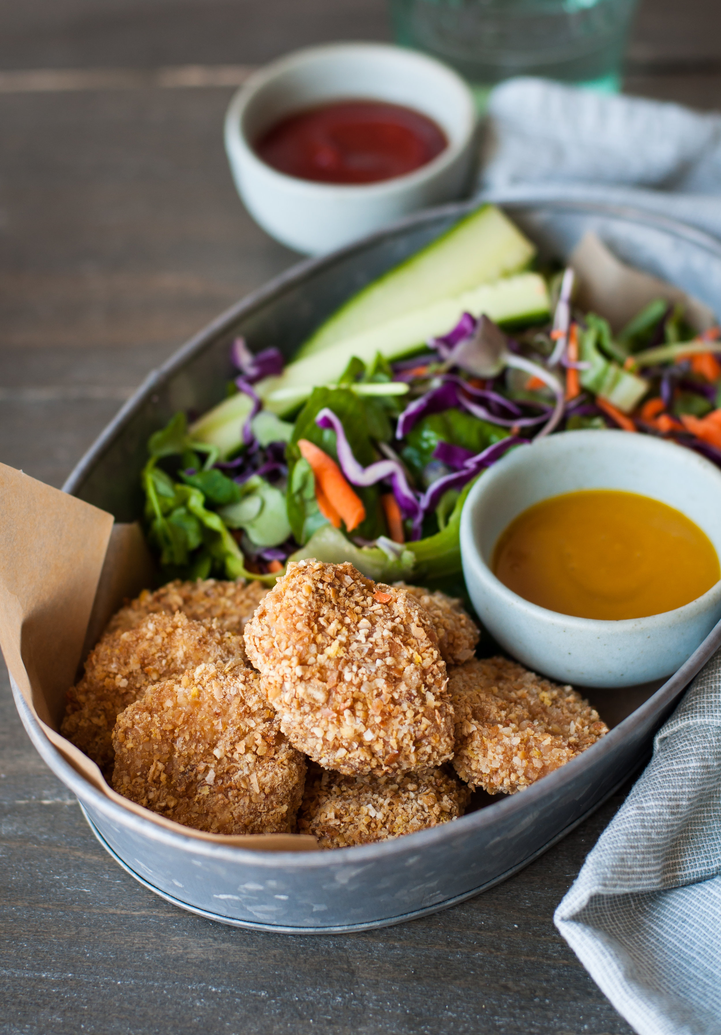4-Ingredient Crunchy Chicken Nuggets