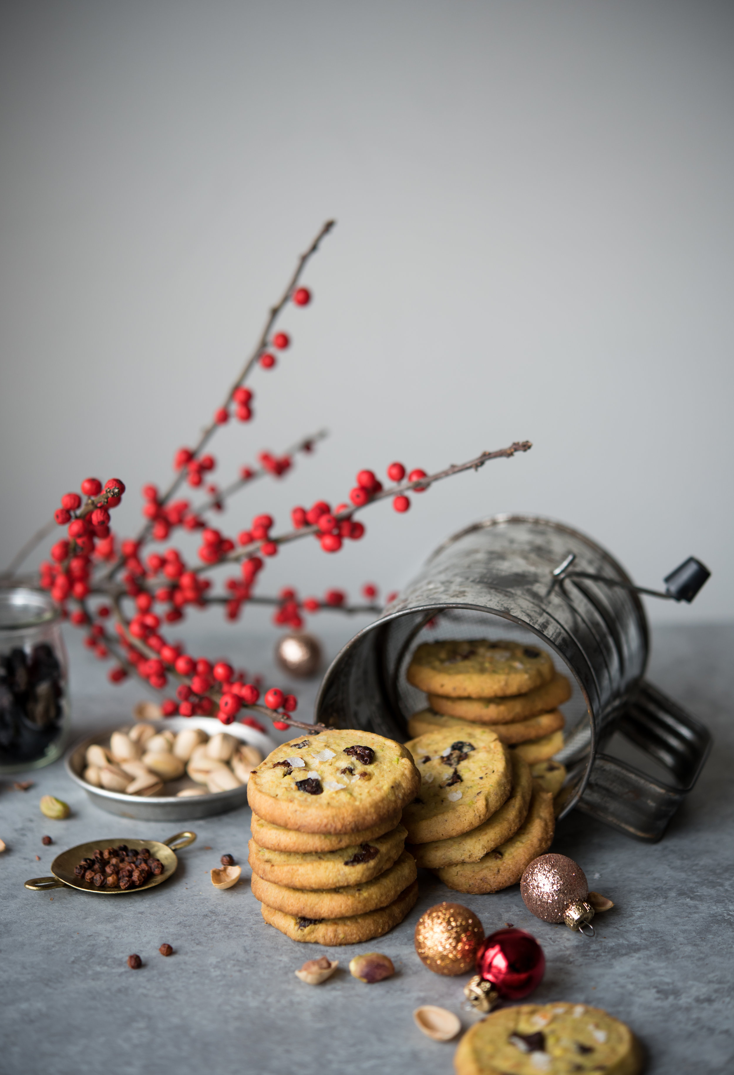 DROM pistachio shortbread cherries red peppercorn-9574.jpg