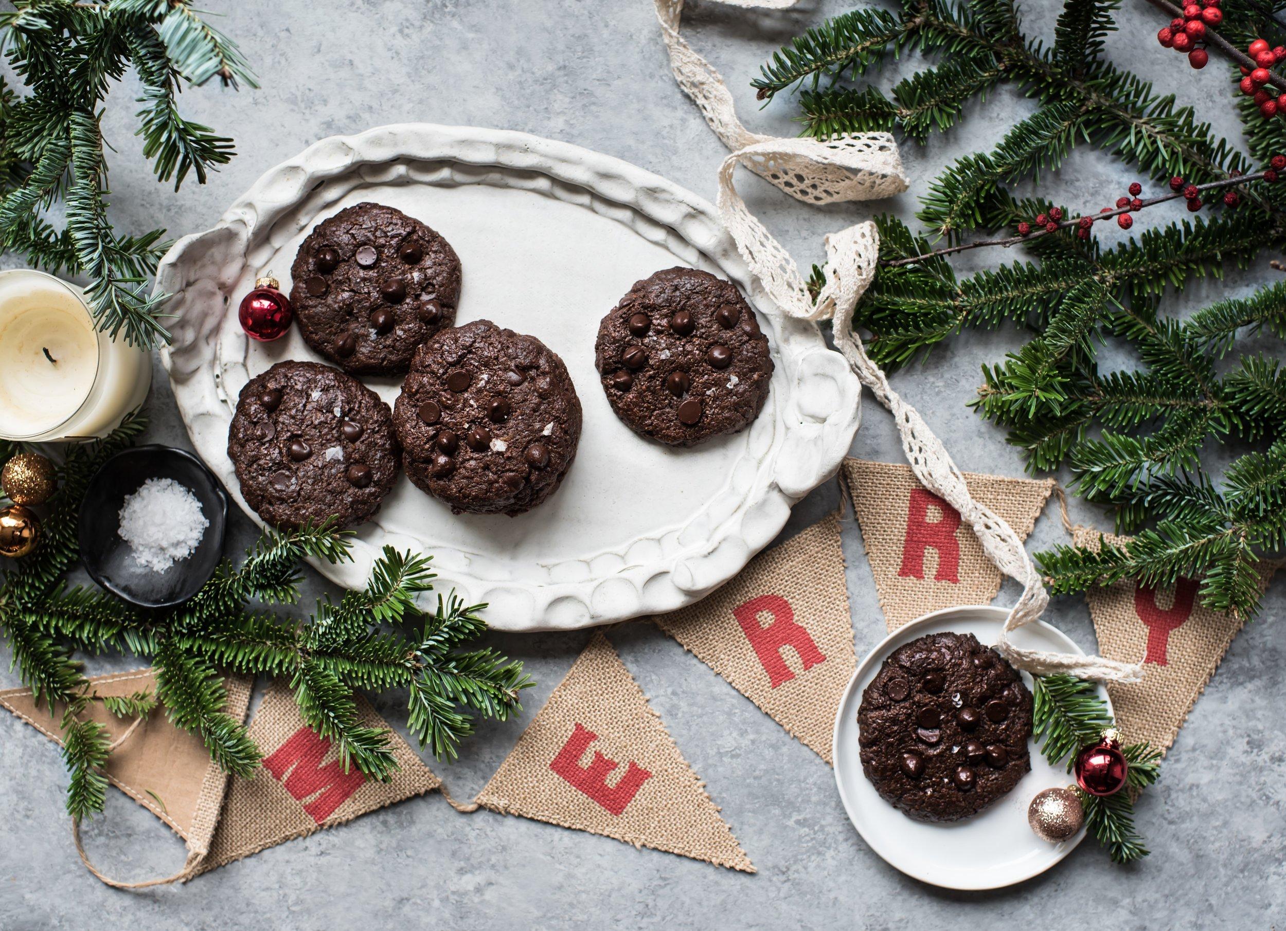 double chocolate brownie cookies paleo-9793.jpg
