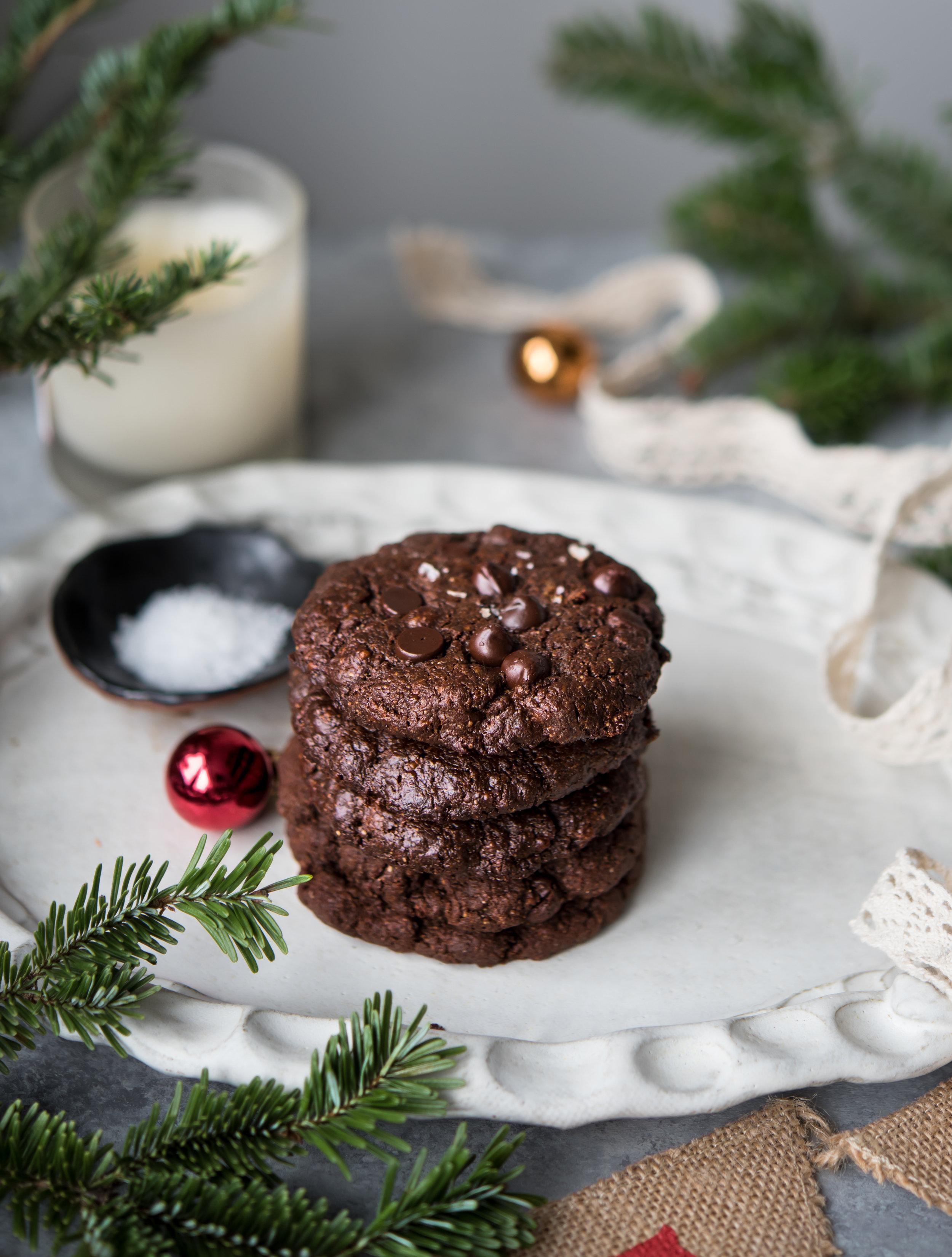 double chocolate brownie cookies paleo-9845.jpg