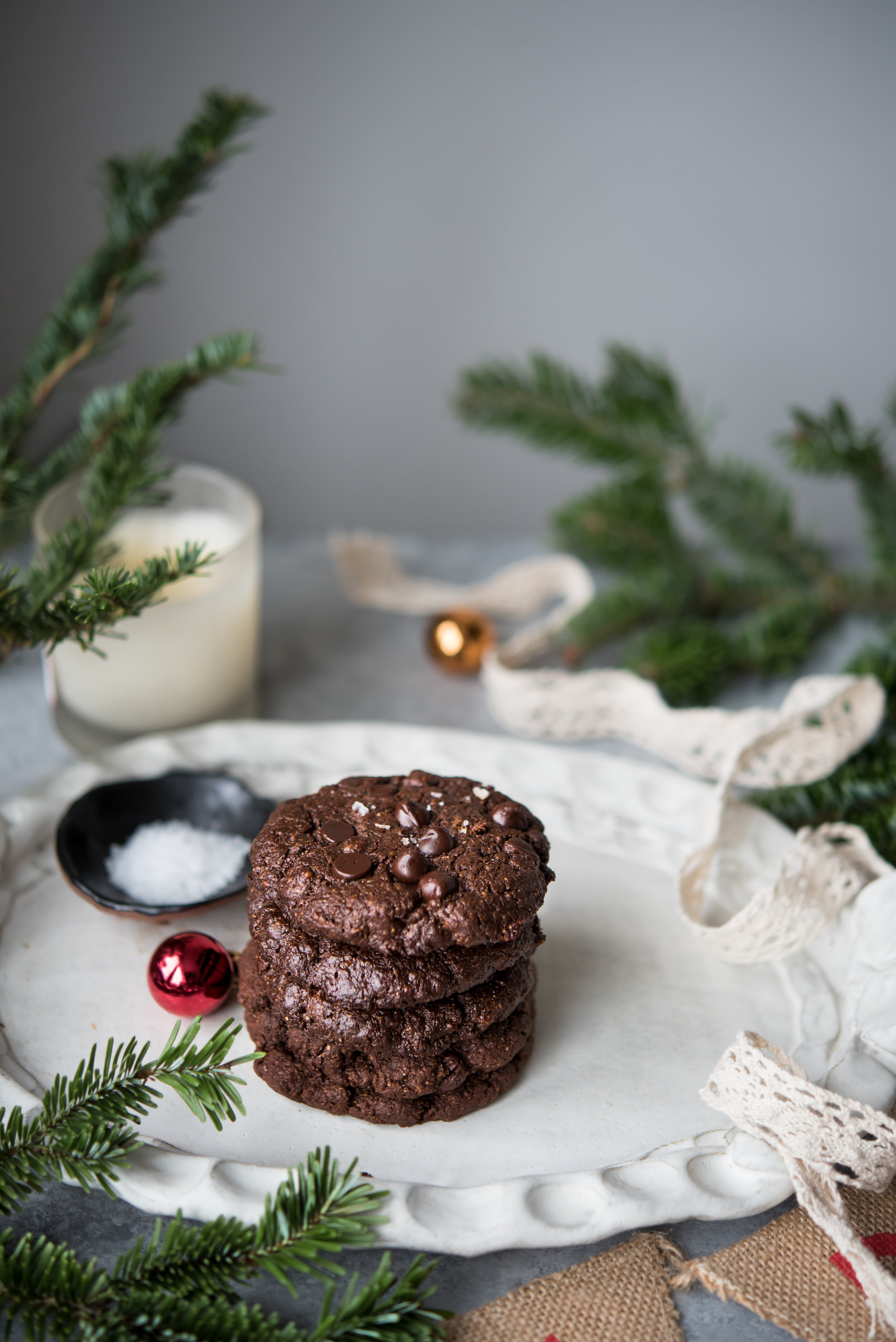 double chocolate brownie cookies paleo-9847.jpg