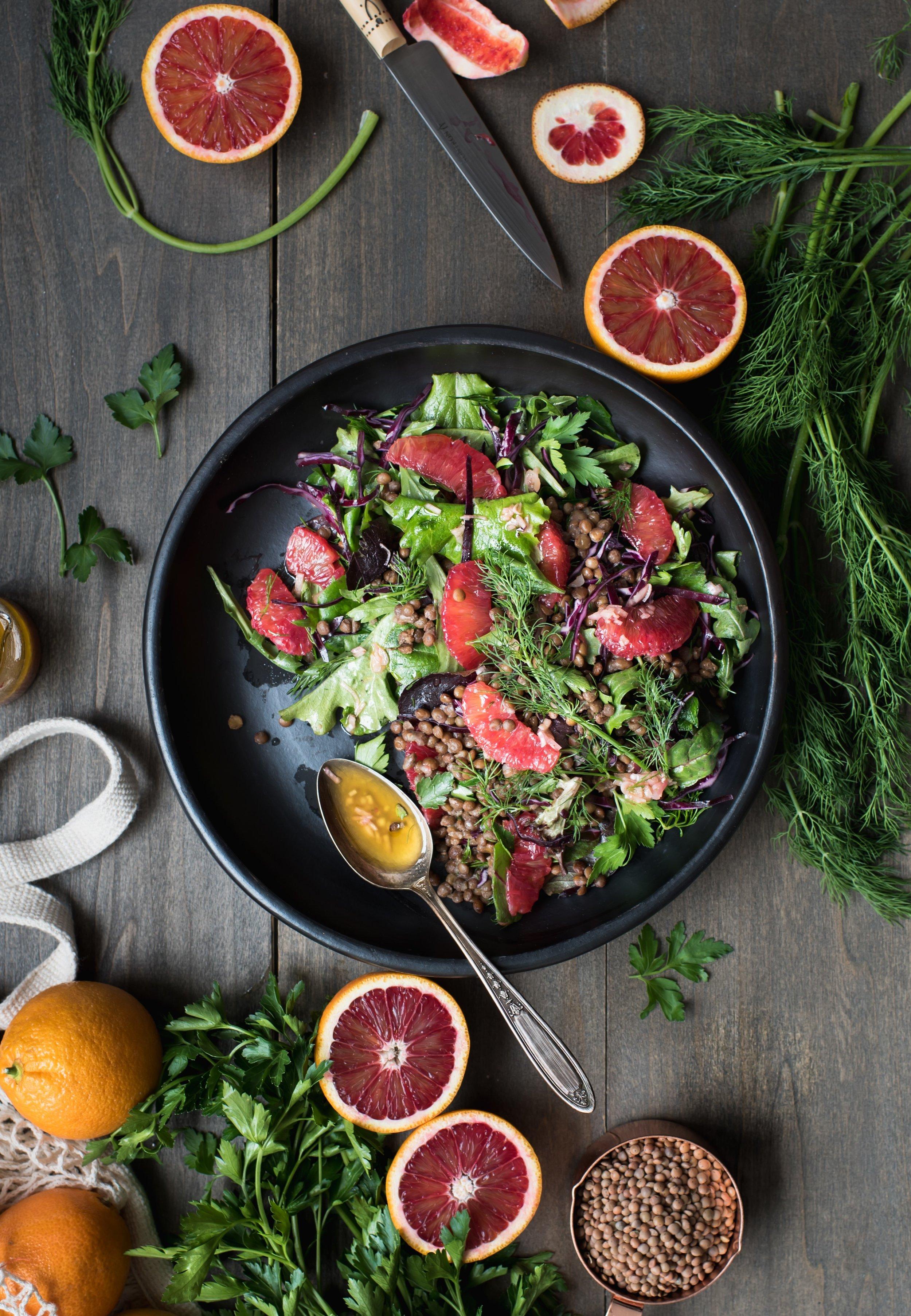 blood orange lentil herb salad-1383.jpg