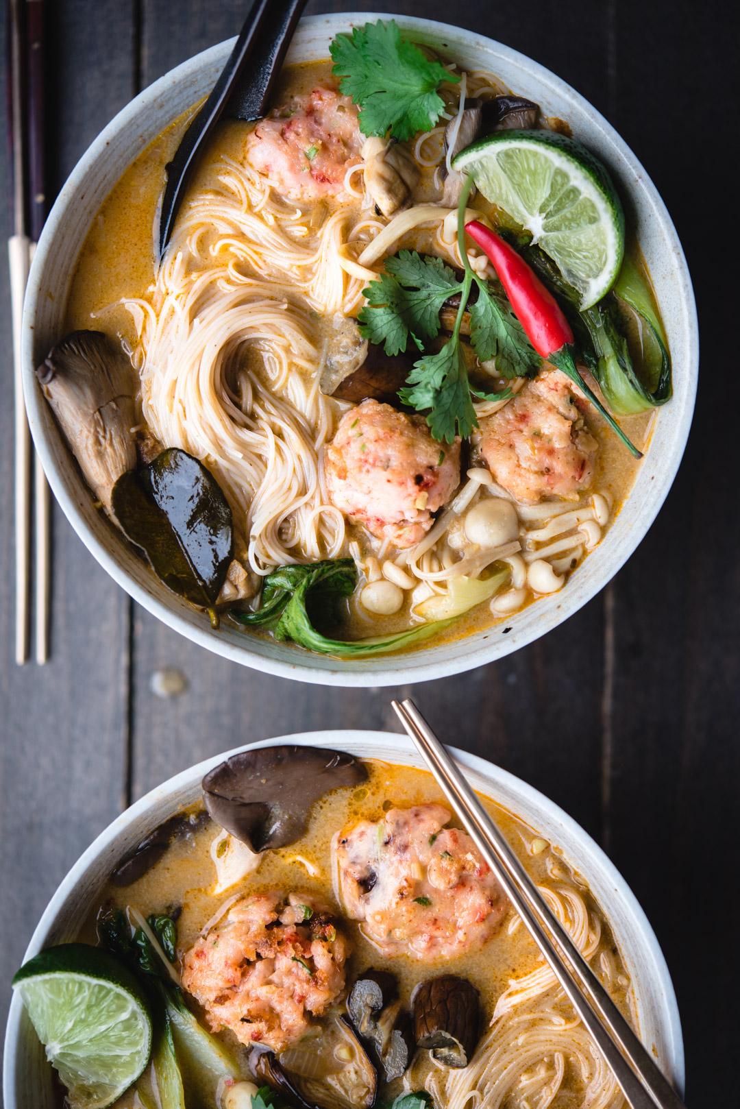 red thai curry noodle soup shrimp balls-7727.jpg
