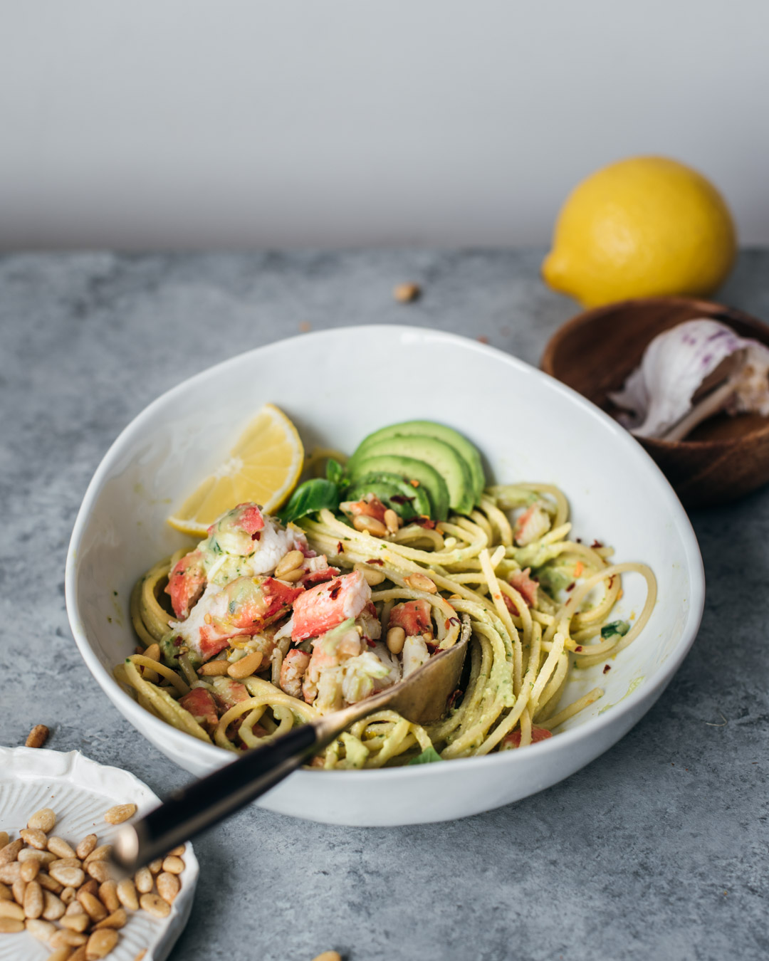 king crab avocado pesto pasta petrossian-0008-2.jpg