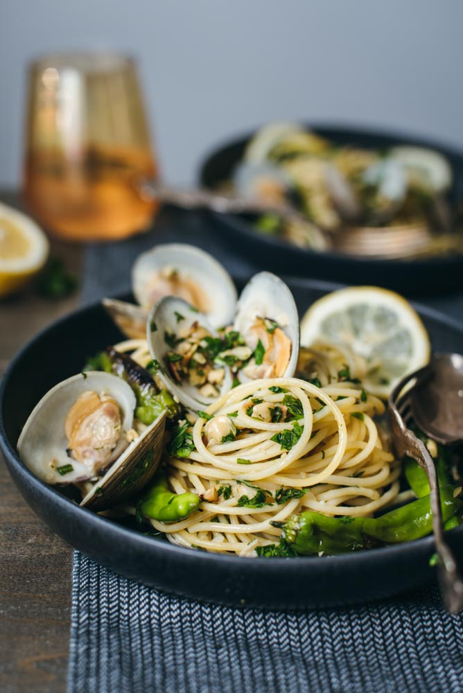 spaghetti with clams and shishito peppers All Clad-4590.jpg