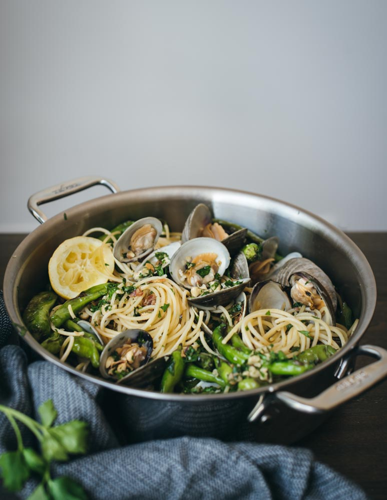 spaghetti with clams and shishito peppers All Clad-4527.jpg