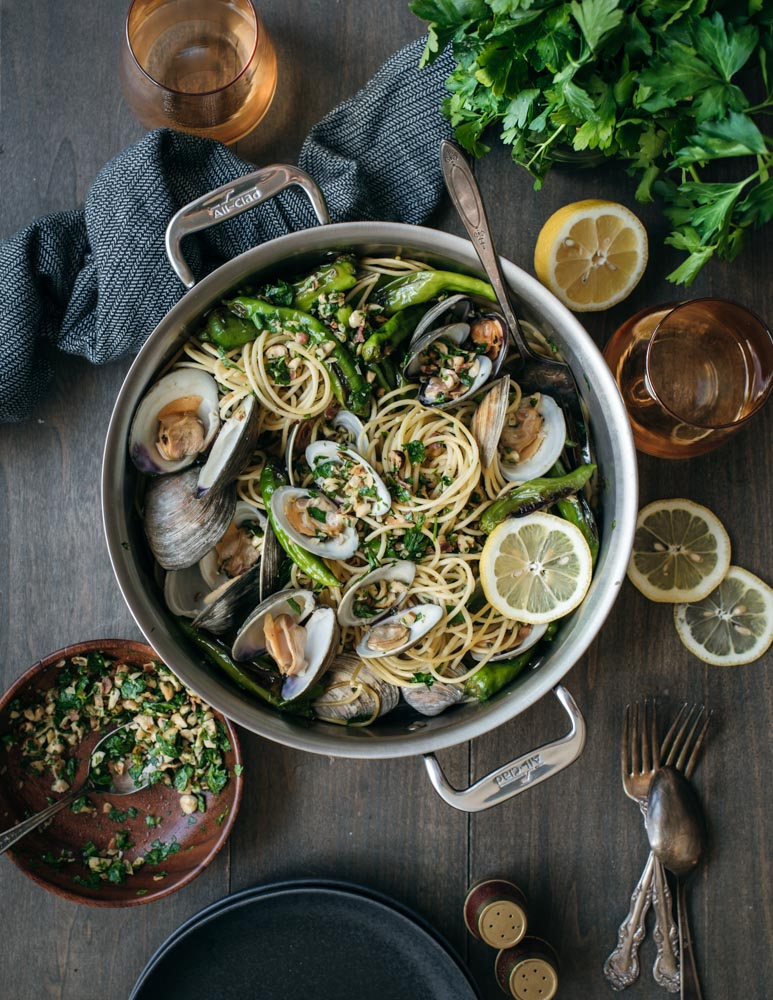 spaghetti with clams and shishito peppers All Clad-4541-2.jpg