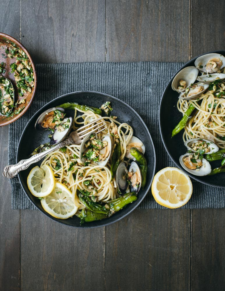 spaghetti with clams and shishito peppers All Clad-4564-2.jpg