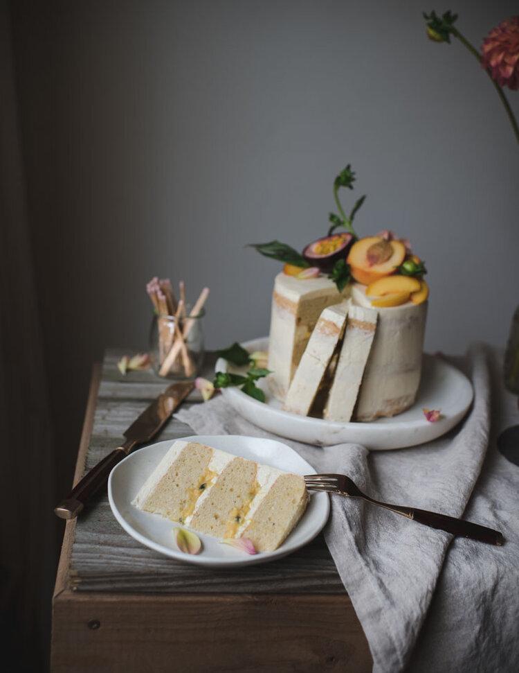 Peach Passionfruit Curd Vanilla Layer Cake-8021.jpg