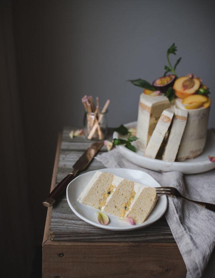 Peach Passionfruit Curd Vanilla Layer Cake-8024.jpg