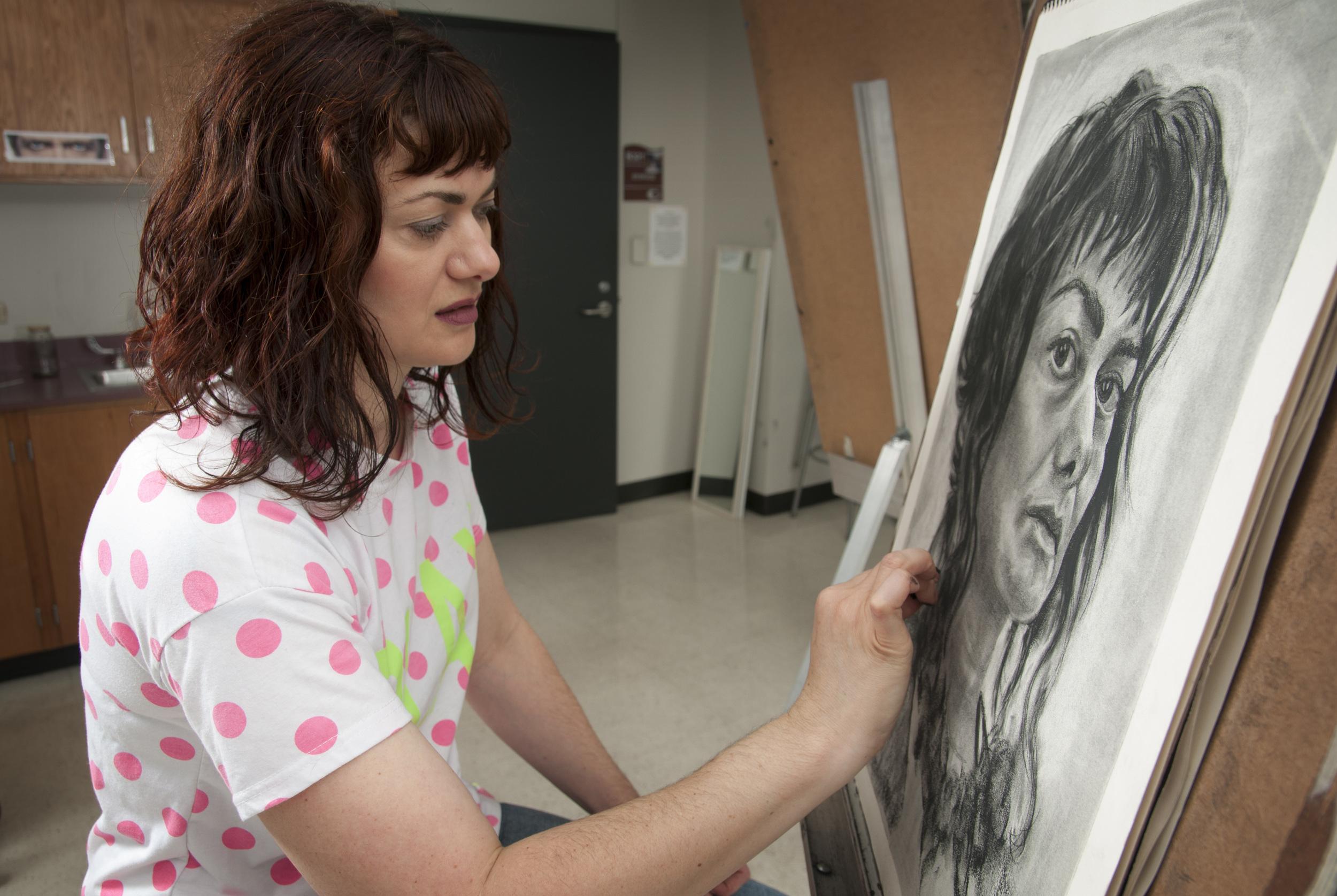 Sue Anne Rische, Professor of Art