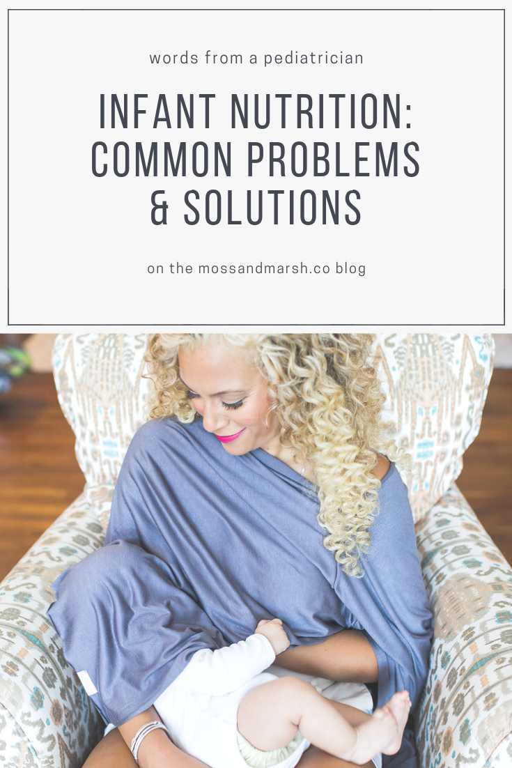 Infant Nutrition: Common Problems & Solutions