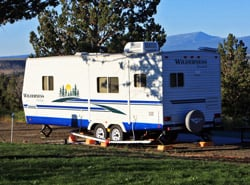 Scenic Northern CA RV camping