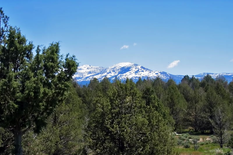 Enjoy spectacular views of the Warner Mountains.