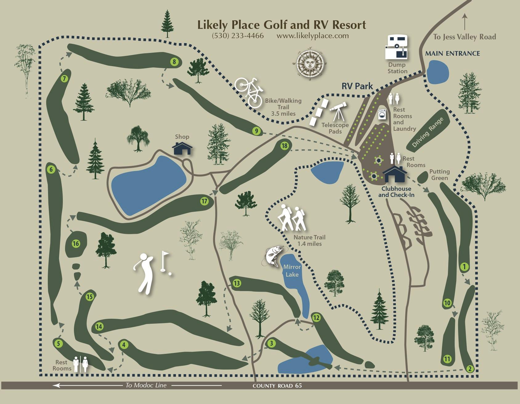 Areas You Can Atv In Southern California Map.Hiking Biking Touring Near Golf Rv Park In Ne California