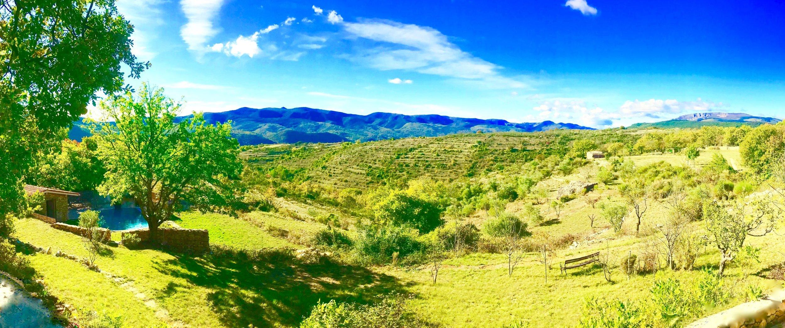Chalet privé situé dans les montagnes du sud de la France
