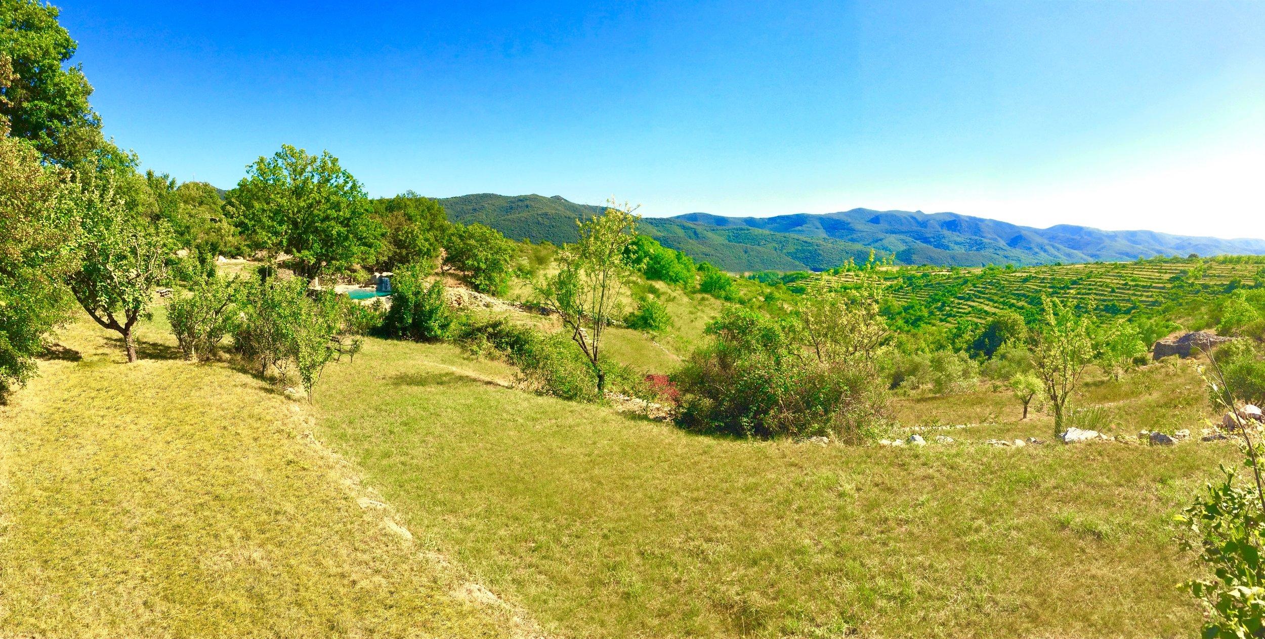 Privat bjergidyl i Sydfrankrig