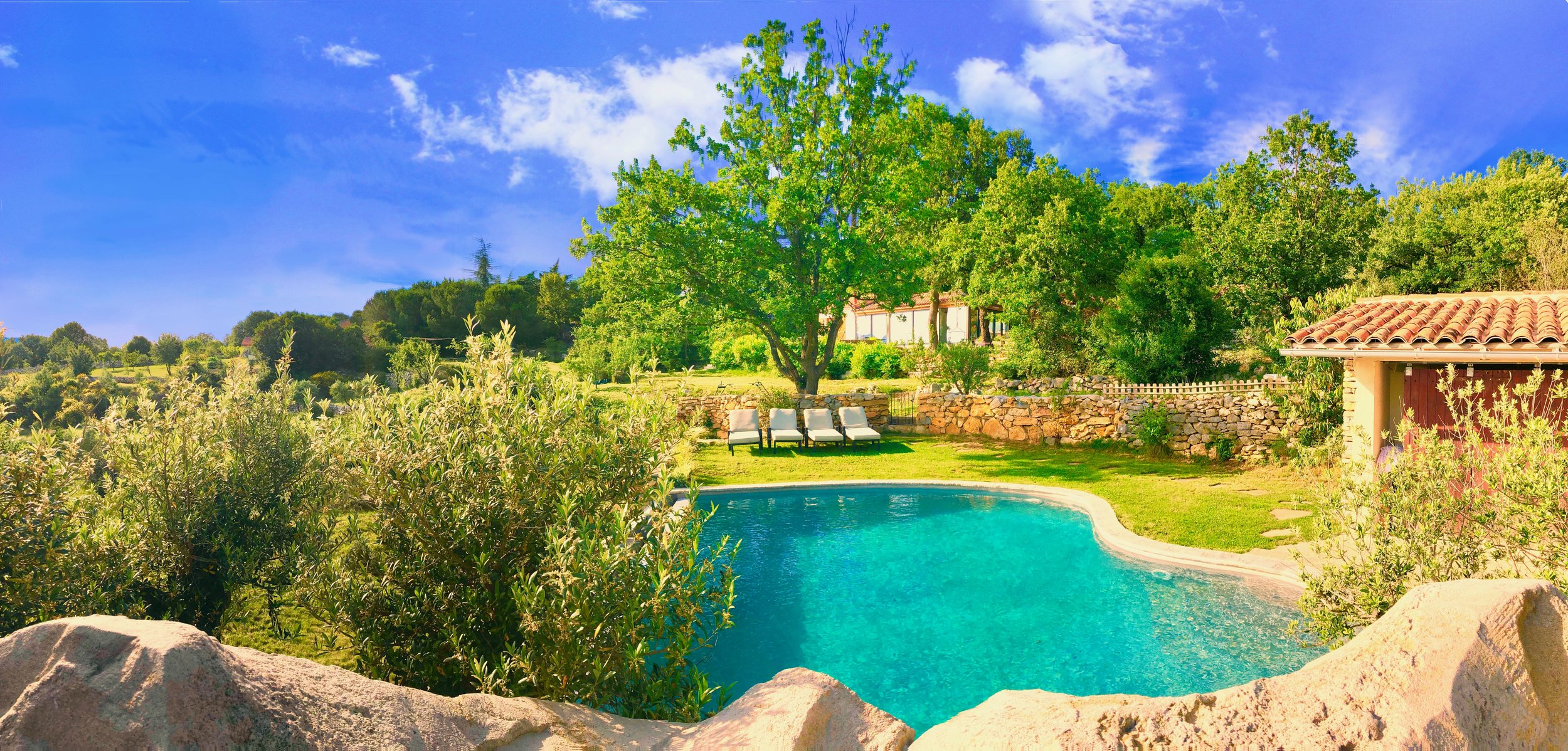 Self catering villas in south of france