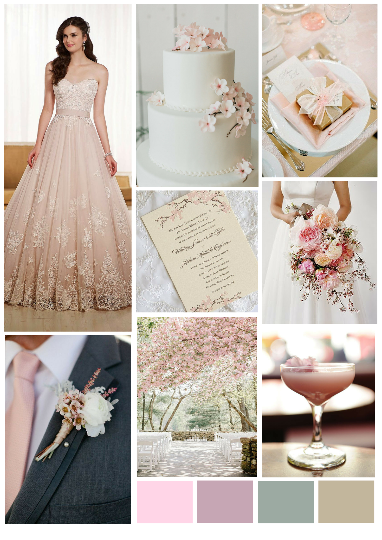 Cherry Blossom Wedding Inspiration