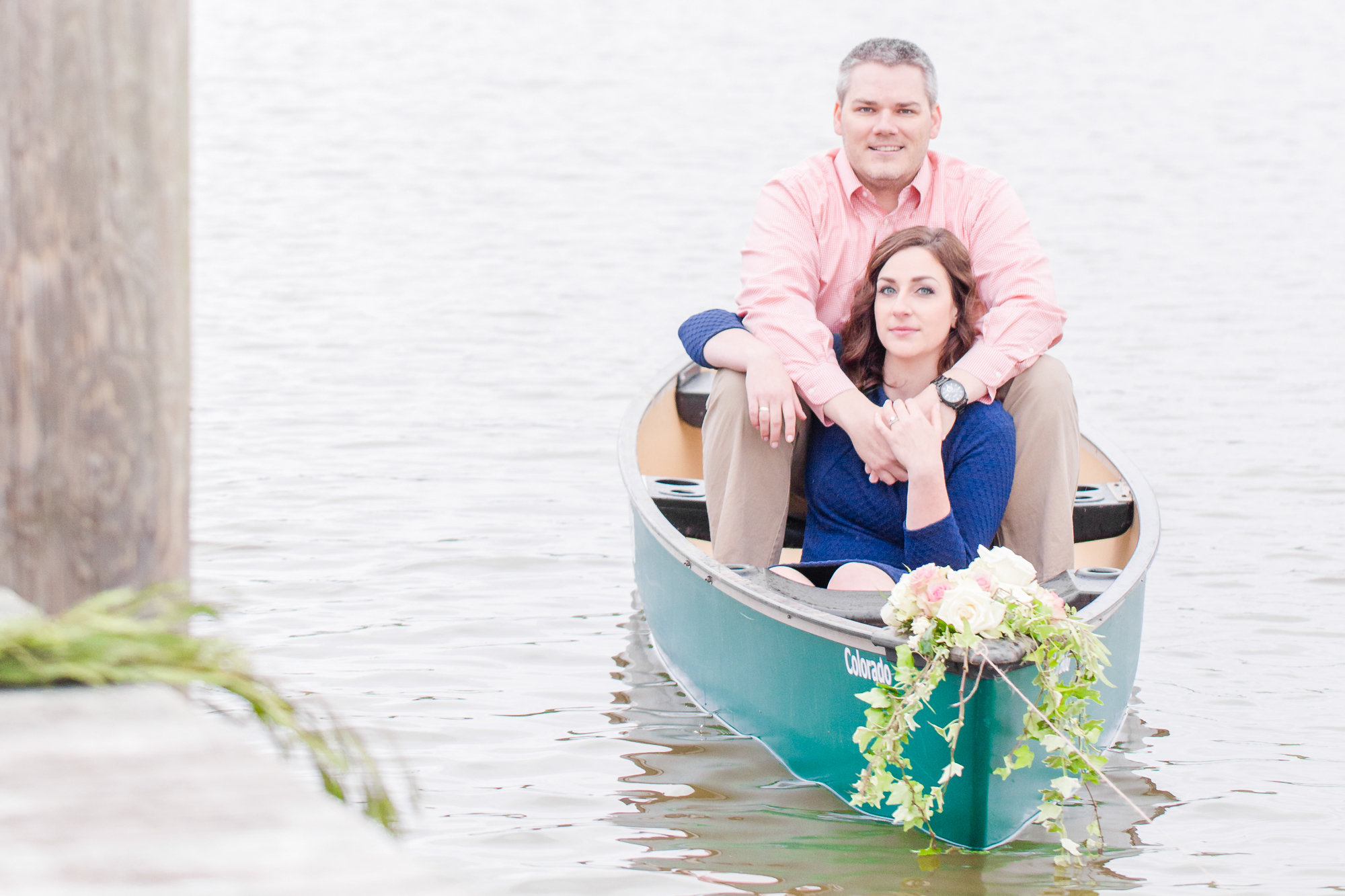 Nautical Styled Engagement Session Enchanting Events and Design