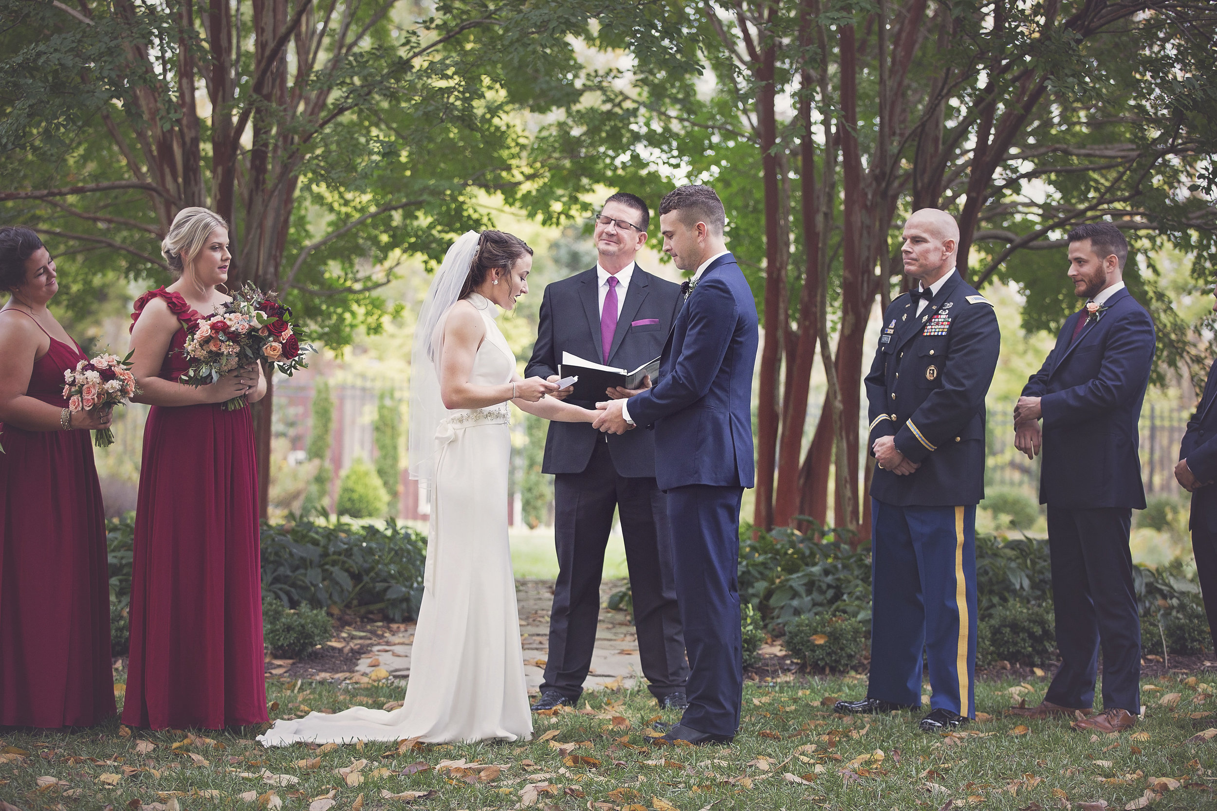 belmont_manor_maryland_wedding_coordinator_ceremony_under_trees