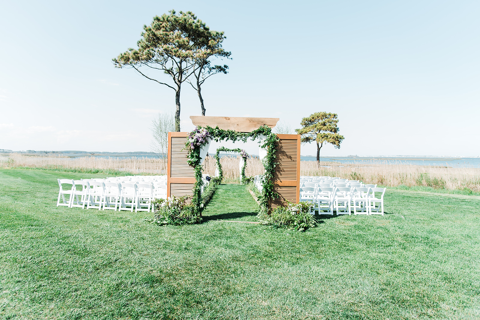 lighthouse_sound_ocean_city_maryland_wedding_ceremony_setup