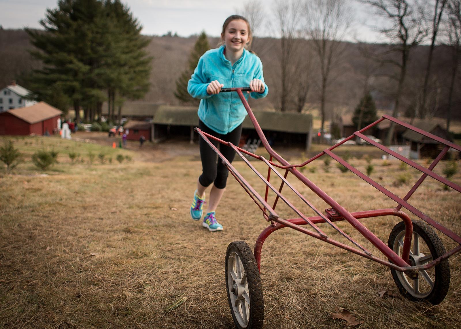 Girl pushing cart_Coventry_Patrick.jpg