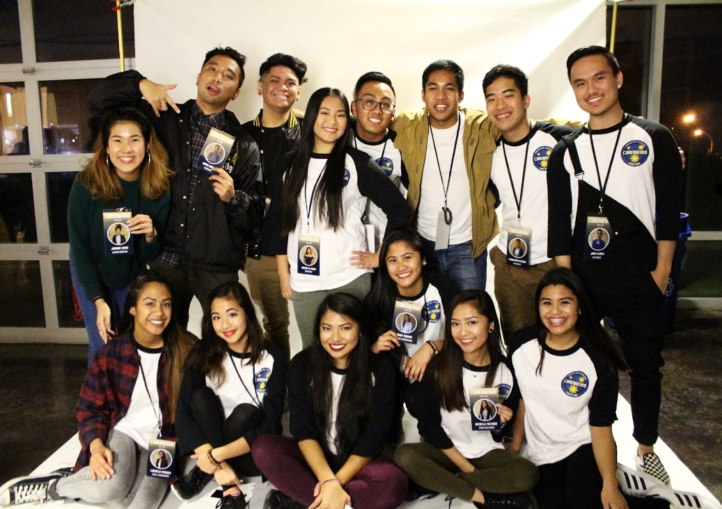 President : Arvin Garcia   Vice President : Kristen Ebreo   Secretary : Ariana La Rosa   PCN Acting Director : Nelssy Verdan   PCN Dancing Director : Edward Laya   Community and Political Chair : Kamille De Guzman   Treasurer : Aaron Redila   Kapatid Director : Jomarie Ching   Social Coordinators : Daisy Maxion and Carmela Paredes   Public Relations Coordinators : Michelle Nelmida and Anthony Gamez   Hxstorians : John Flores and Christian Alcalde   Advisor : Deborah Hansana
