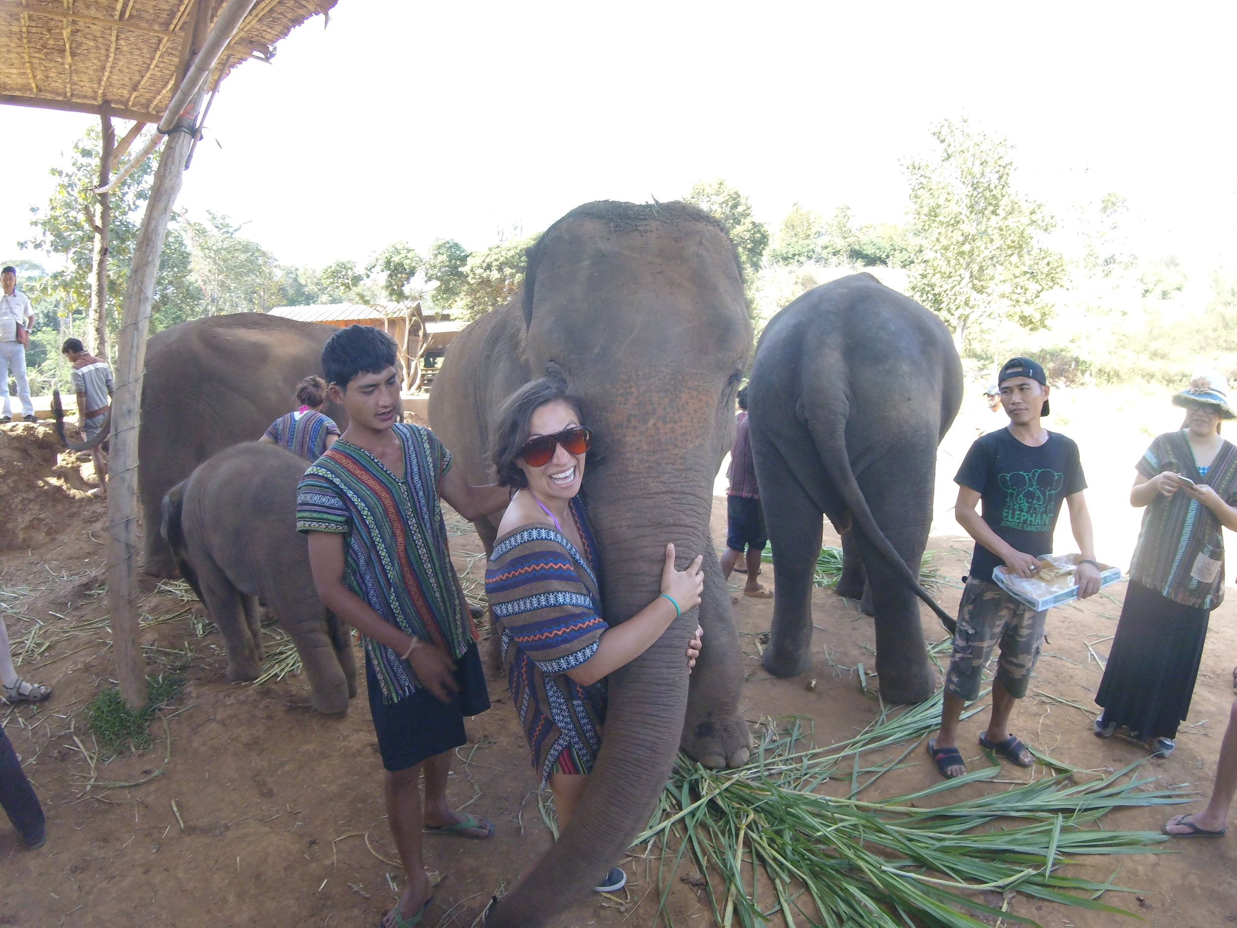 Me + Thailand + Elephant Sanctuary