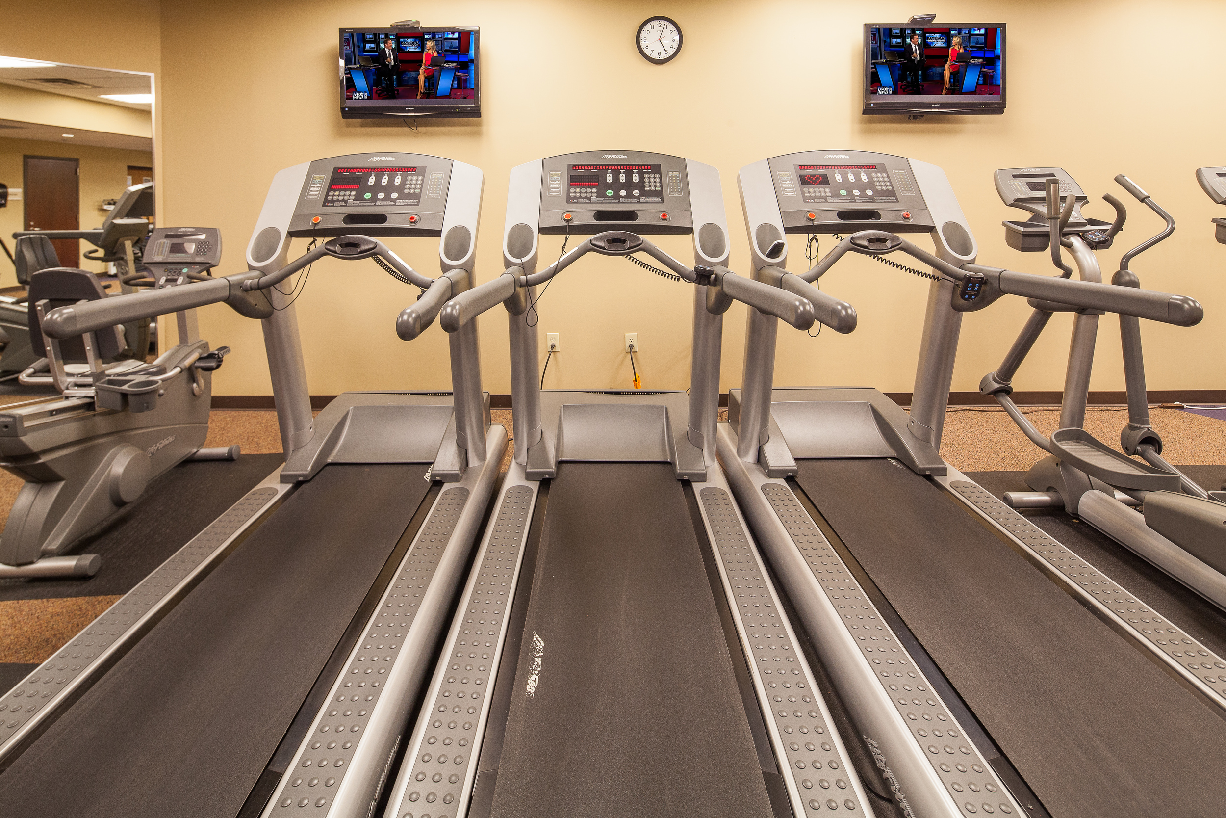 Modernized Fitness Center