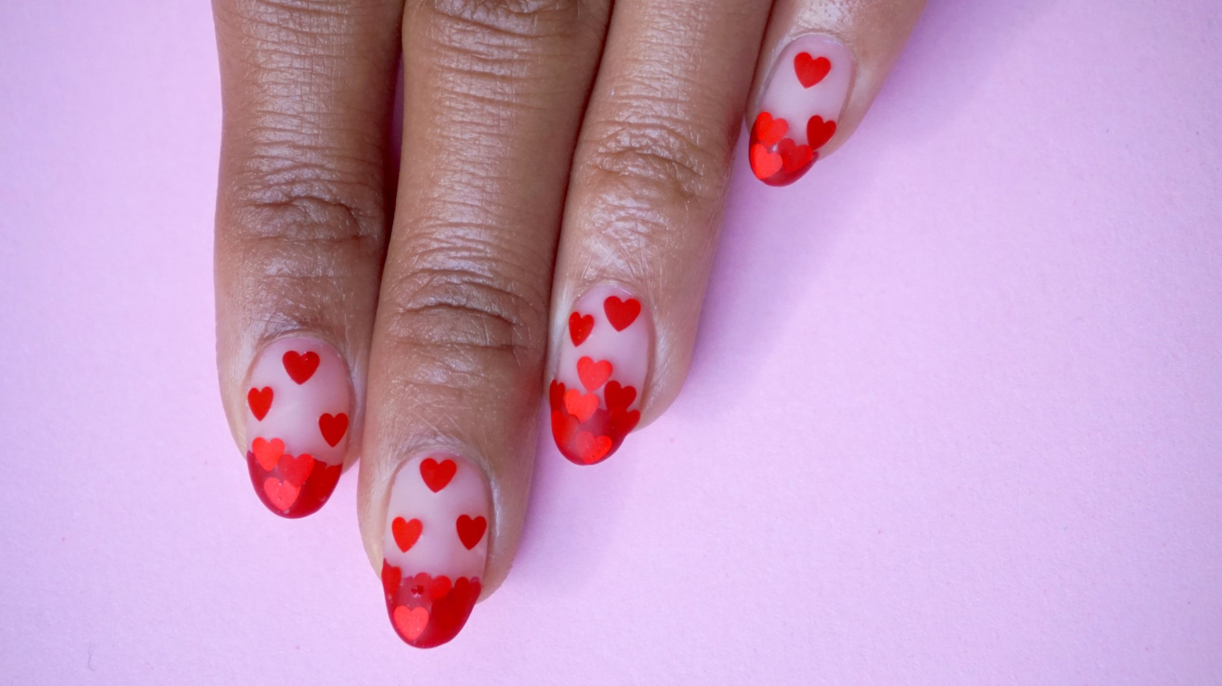 Theme: Mood.  Cascading hearts was meant to symbolize the feeling of falling in love. Get it!?!