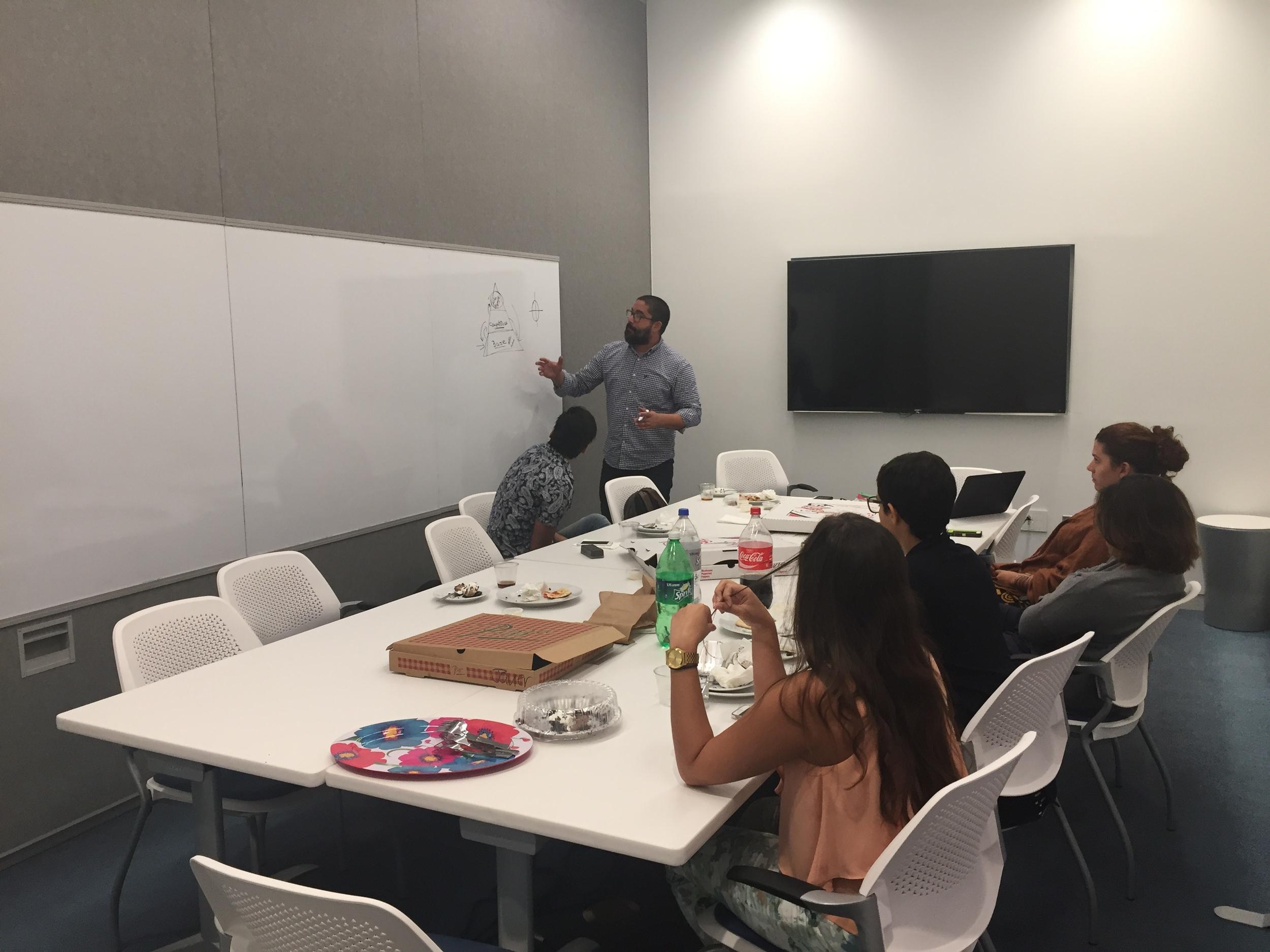 Almuerzo con interns de Inversión Cultural